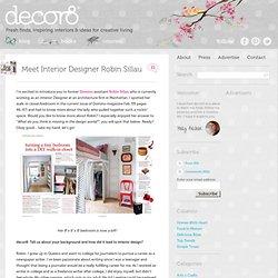 Meet Interior Designer Robin Sillau