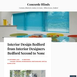 Interior Design Bedford from Interior Designers Bedford Second to None