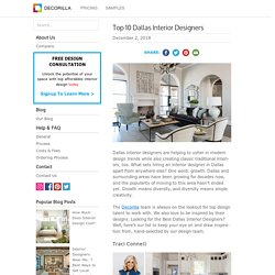 Top 10 Dallas Interior Designers