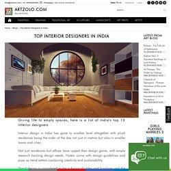 Top Interior Designers in India - 2018's Best Indian Interior Designers