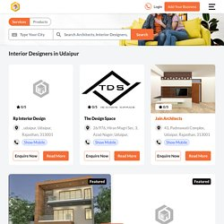 Interior Designers in Udaipur