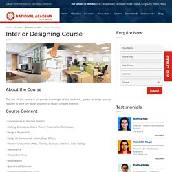 Best Interior Designing Courses in Mumbai, India - National Academy