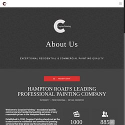 Leading Interior and exterior painting company - Caspian Painting