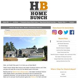 Interior Design Ideas: Modern Farmhouse Interiors - Home Bunch Interior Design Ideas