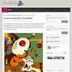 Interior holandés I, Joan Miró