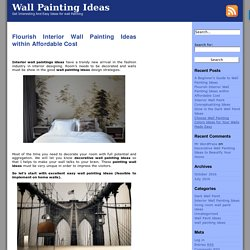 Interior Wall Painting Ideas Archives - Wall Painting Ideas