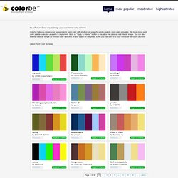 Colorbe.com . Color Combination | Color palette | Myspace color | Friendster color