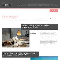 Blog de Interiorismo y Mobiliario Contemporáneo. Blog de Diseño de Interirores, Decoración, Arquitectura, Iluminación, Novedades, Tendencias...