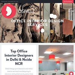 Best Office Interiors Design Decoration Services Noida, Delhi