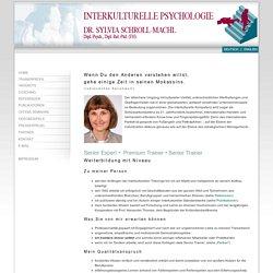 Dr. Sylvia Schroll-Machl, Senior expert für interkulturelle Kompetenz und interkulturelle Kommunikation; interkulturelle Trainings, Coachings, Seminare in Niederbayern / Bayern