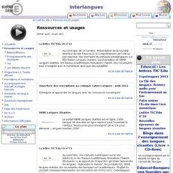 [Créteil] Ressources et usages