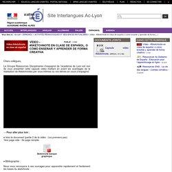 Site Interlangues Ac-Lyon - Vídeo - #Sketchnote en clase de español, o cómo enseñar y aprender de forma creativa