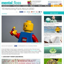 15 Interlocking Facts About LEGO