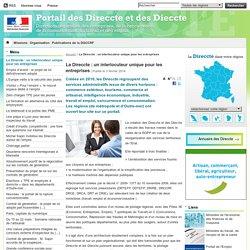 La Direccte: un interlocuteur unique pour les entreprises