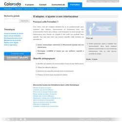 Colorado Formation - Générateur de performance en relation client