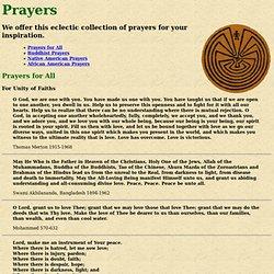 Interlude: Prayers
