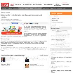 LSA 12/09/12 Intermarché veut aller plus loin dans son engagement nutrition