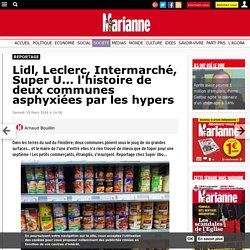 Lidl, Leclerc, Intermarché, Super U... l'histoire de deux communes asphyxiées par les hypers