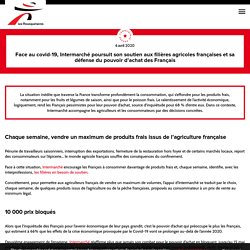 Face au covid-19, Intermarché défend le pouvoir d'achat des Français