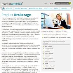 Intermediación comercial de productos - Market America
