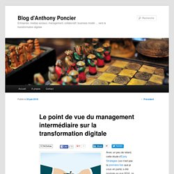 0716 Le point de vue du management intermédiaire sur la transformation digitale