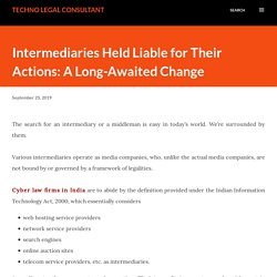 Cyber Law Firms In India