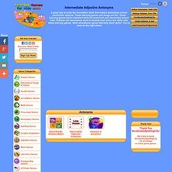 Intermediate Adjective Antonyms
