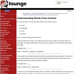 Intermediate Level: Nonsense Words Reading Exercise.