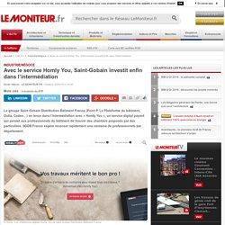 Homly You, Plateforme de Saint-Gobain de mise en relation artisans clients particuliers - 20/0916