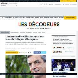 L'interminable débat français sur les «statistiques ethniques»