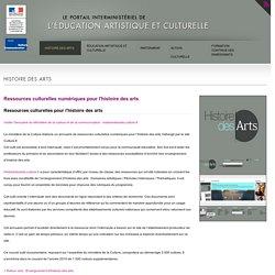 Présentation de l'éducation artistique et culturelle (portail interministériel)