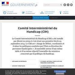 Comité Interministériel du Handicap (CIH)