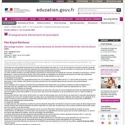 Décrochage scolaire : mise en œuvre des décisions du Comité interministériel des villes du 20 juin 2008 - MENB0801025C