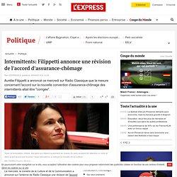 Intermittents: Filippetti annonce une révision de l'accord d'assurance-chômage