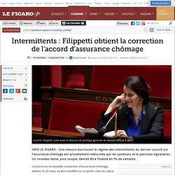 Intermittents: Filippetti obtient la correction de l'accord d'assurance chômage