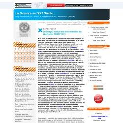 Chômage, statut des intermittents du spectacle, MEDEF (IV)