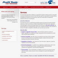 Intermodal Operations Software Management Services