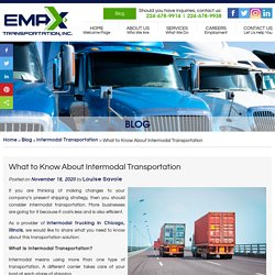What to Know About Intermodal Transportation