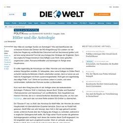 Welt intern : Hitler und die Astrologie - Nachrichten