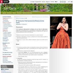 9º Concurso Internacional de Música de les Corts