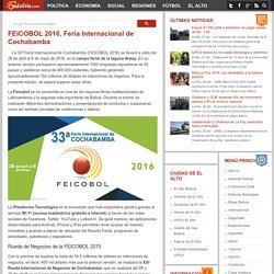 FEICOBOL 2016, Feria Internacional de Cochabamba