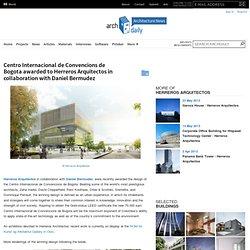 Centro Internacional de Convencions de Bogota awarded to Herreros Arquitectos in collaboration with Daniel Bermudez