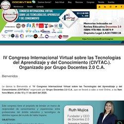 Congreso Internacional Virtual sobre las Tecnologías del Aprendizaje y del Conocimiento (CIVTAC)