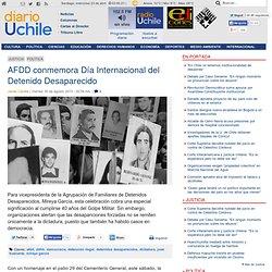 AFDD conmemora Día Internacional del Detenido Desaparecido