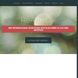 Red Internacional de Estudios Digitales sobre la Cultura Artística