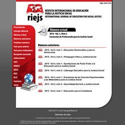 Revista Internacional de Educación para la Justicia Social .