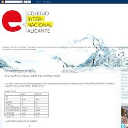 Colegio Internacional Alicante: LA GRAMÁTICA VISUAL. IMPERFECTO/ INDEFINIDO.