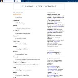 Español internacional