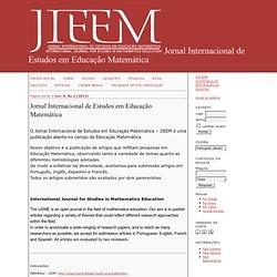 Jornal Internacional de Estudos em Educação Matemática