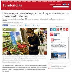 Chile ocupa el cuarto lugar en ranking internacional de consumo de calorías